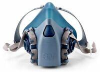 3M 7503 CoolFlow Reusable Half Facepiece Respirator Respiratory Protection LARGE