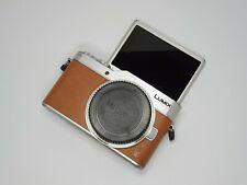 Panasonic Lumix GX800 Mirrorless Digital Camera - Orange (Body Only)