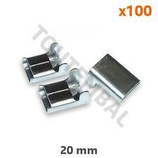 Agrafe pour feuillard inox en 20 mm de large (par 100)