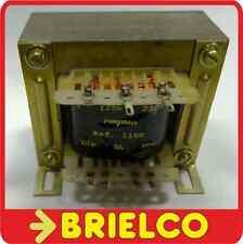 220//240Vac Transformador 250mA secundario 6W 12-0-12 V AC Salidas