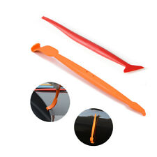 2 Pcs Micro Squeegee Tuck Tool for Car Home Vinyl Wrapping Curved Gasket Tint
