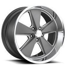 "US Mags U120 Roadster 17x7 5x4.5"" +1mm Gunmetal Wheel Rim 17"" Inch"