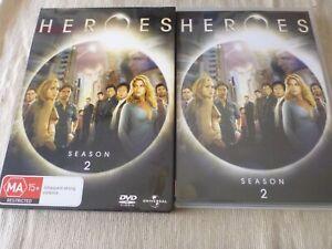 Heroes : Season 2 (4x DVD, 2008) Region 4 Jack Coleman Milo Ventimiglia