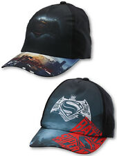 Boys Batman vs Superman Baseball Cap Size 54 & 56 cm (4 to 10 Years) 771-238