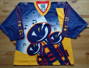 New Men's Pro 48 1996 St Louis Blues Trumpets Custom Clone Jersey Reverse Retro