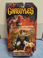 1995 Kenner Gargoyles Battle Goliath Action Figure w/ Combat Mace & Spear Sealed
