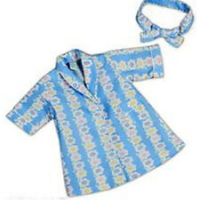Blue Robe with Multi Color Flowers Fits 18 inch American Girl Dolls