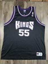 Sacramento Kings Jason Williams #55 NBA Basketball Champion Jersey Mens Size 52