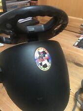 Madcatz Para Sony Playstation 1 PS1/PS2 Racing Volante + Pedales de pie
