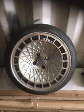 "Stuttgart st7 15"" Spare alloy wheel 4x100, Silver , VW Polo, Mini, Honda, Clio"