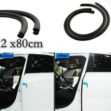 "2Pcs ""B"" -Shape Rubber Trim Seal Strip Car Door Edge Protector Weather strip"