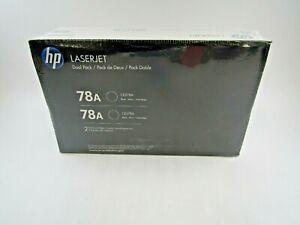 HP 78A Laserjet Black Dual Pack Toner Cartridges CE278A