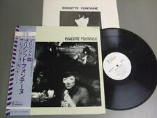 BRIGITTE FONTAINE S/T Japan 1974 LP with OBI, Booklet
