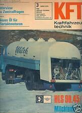 DDR IFA KFT 3/1974 MZ Gespann ES Mercedes LKW Leyland