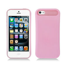 For Apple iPhone 5 5S SE TPU Candy HYBRID GLOW Case Phone Cover Pink accessory