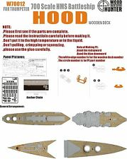 Hunter 1/700 W70012 Wood deck HMS Hood 1941 for Trumpeter