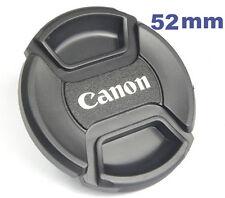Bouchon (cache objectif) compatible 52mm pour Canon EF-S 24mm F/2.8 STM