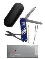 Classic Swiss Army Pocket Knife Israel Flag, Shield / Star of David Candelabrum