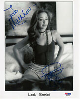 "Leah Remini ""To Matthew"" Autograph Signed 8x10 Photo Pic PSA DNA COA Certified"