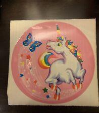 Vintage Lisa Frank Jumbo Unicorn Sticker