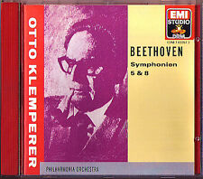 Otto KLEMPERER: BEETHOVEN Symphony No.5 8 EMI CD Sinfonien Philharmonia 1957/59