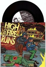 "High On Fire/Ruins ""split"" 7"" +Comic Sleep The Melvins Thrones Neurosis Baroness"