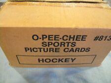 1989-90 O Pee Chee Hockey Vending Case/ Sakic, Leetch rookies!