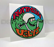 RUTTMAN UGLYS Mini Bike Vintage Style DECAL | Vinyl STICKER