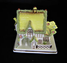 "COALPORT COTTAGES ""THE MASTERS HOUSE"" PASTILLE BURNER"