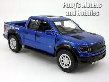 Ford F-150 SVT Raptor 1/46 Scale Diecast Metal Model by Kinsmart - BLUE SOLID