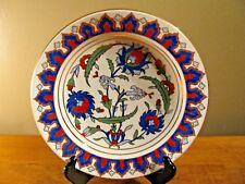 Kutahya Porselen Hand Painted Bowl 2006. Rare Beautiful Made in Turkey