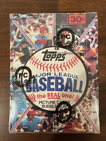 1981 Topps Baseball Sealed 36 Ct Pack Wax Box OPC / BBCE Wrapped Certified