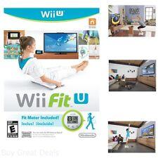 Wii Fit U w/Fit Meter Wii U Wii Board Fitness Dance Sport Dual-Screen New