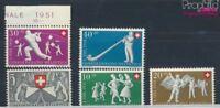 Schweiz 555-559 postfrisch 1951 Pro Patria (7387785