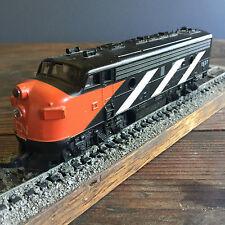 HO model train C N ZEBRA dummy ENGINE # 1537