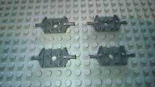 LEGO Bau- & Konstruktionsspielzeug LEGO Achsen 12 Stück schwarz Technic Baustelle Star Wars Zubehör 6157 Halter