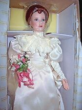 "Ashton Drake / Phil Tumminio Porcelain Bride ""Betty"" From This Day Forward"