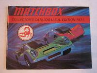 "1971 MATCHBOX CATALOG - U.S.A EDITION - MINT CONDITION - 47 PAGES - 6"" X 4 1/2"""