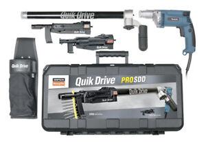 QuikDrive PROSDDM25K Combo System w/ 120V Makita 2500 RPM Motor