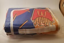 More details for mcdonalds limited edition fries picnic blanket throw foldable velco close carry