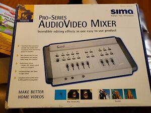 Sima Video Edit Digital Mixer - #SFX-M