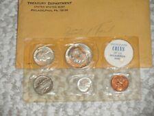 1964 5 COIN PROOF SET WITH ORIGINAL ENVELOPE KENNEDY HALF   PHILADELPHIA MINT