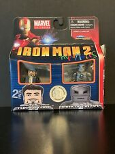Iron Man 2 Mini Mates Tony Stark and Iron Man