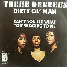 "7"" 1973 SOUL ! THREE DEGREES : Dirty Ol´ Man / VG+"