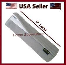1 Premium Grey Fleece Seat Belt Comfort Pad Covers/Dress & Pads Your Shoulder