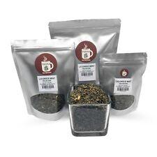 Premium Licorice Mint Tea Herbal Loose Leaf caffeine free
