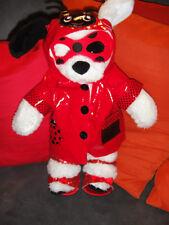 Build-A-Bear Workshop Bär Teddy TeddyBär mit Kleidung !! Hund Dog Ladybug Schuhe
