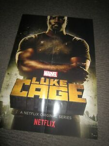 Luke Cage/Ash Vs Evil Dead poster