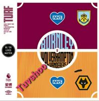 Burnley v Wolves Wolverhampton RESTART Programme 15/7/2020 ! READY TO DISPATCH!!