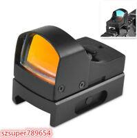 Rifle Pistol Compact Reflex Micro Red Dot Sight Scope Mini Holographic Hunting